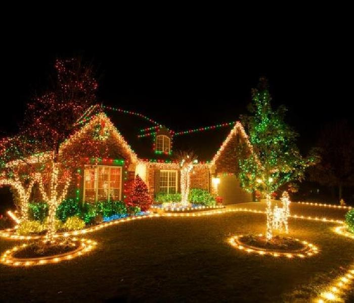 Outdoor Christmas Lighting Tips Servpro Of Pickens County